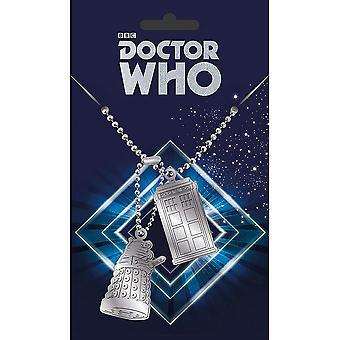 Doctor Who Dog Tag Pendant