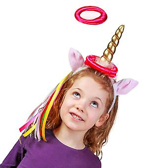 Unicorn Hoopla Ring Toss Game