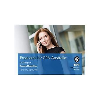 CPA Australie Financial Reporting-cartes d'accès par BPP Learning Media-