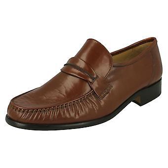 Mens Thomas Blunt Formal Slip On Shoes Boston