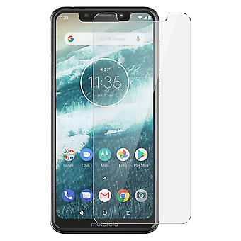 Muvit Motorola One Screen Protector 9H Tempered Glass - Transparent