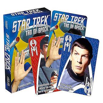 Star Trek tao de Spock jogando cartas