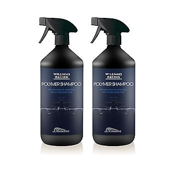 Williams Polymer Shampoo 1L Set of 2  Hydrophobic effect Rinse aid