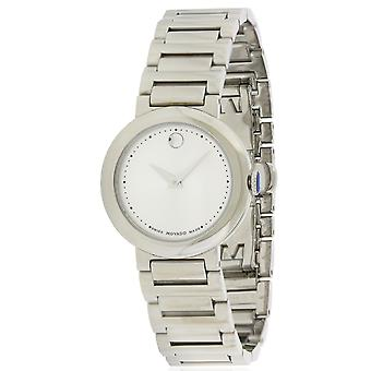 Movado Concerto Stainless Steel Ladies Watch 0606702