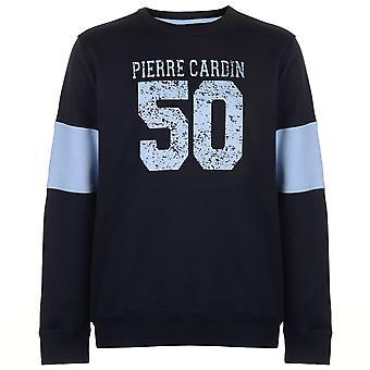 Pierre Cardin Mens 50 Crew Neck Sweatshirt T-Shirt Tee Top