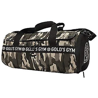 Gold's Gym - Unisex barrel bag - Color: Black/Grey/Green - One Size