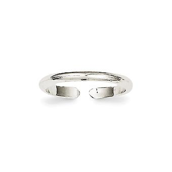 925 Sterling Silver Solid Toe Ring Jewelry Gifts for Women - .9 Grams