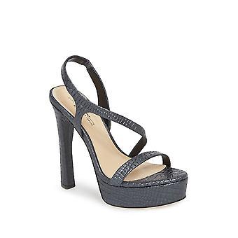 Imagine Vince Camuto Womens PIERA Fabric Open Toe Casual Strappy Sandals