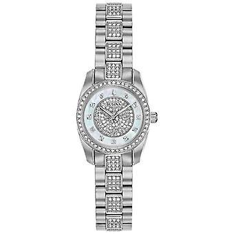 Bulova Womens Crystal Set Stainless Steel 96L253 Watch