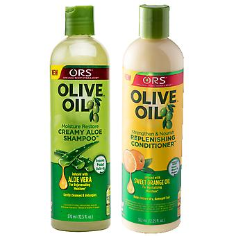 Organic Root Stimulator Olive Oil Shampoo & Conditioner
