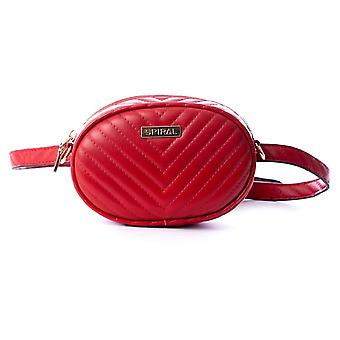 Spiral Bisou Lipstick Red Bum Bag