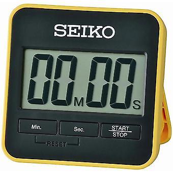 Seiko Digital-Countdown-Timer und Stoppuhr - gelb (QHY001Y)