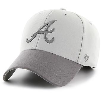 47 fire Adjustable Cap - MVP Atlanta Braves grey