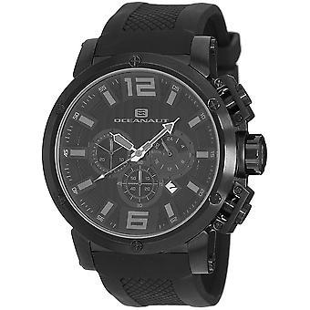 Oceanaut Men's Spider Black Dial Watch - OC2122
