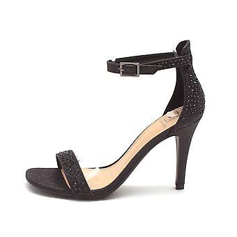 Material Girl Womens Blaire4 Toe aberto Formal alpergata sandálias