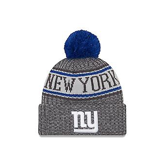 New Era Nfl New York Giants Sideline Graphite Sport Knit