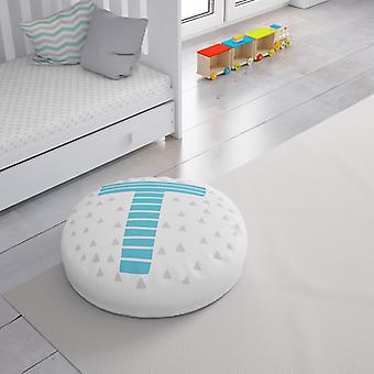 Meesoz Floor Cushion - Letter Boy - T