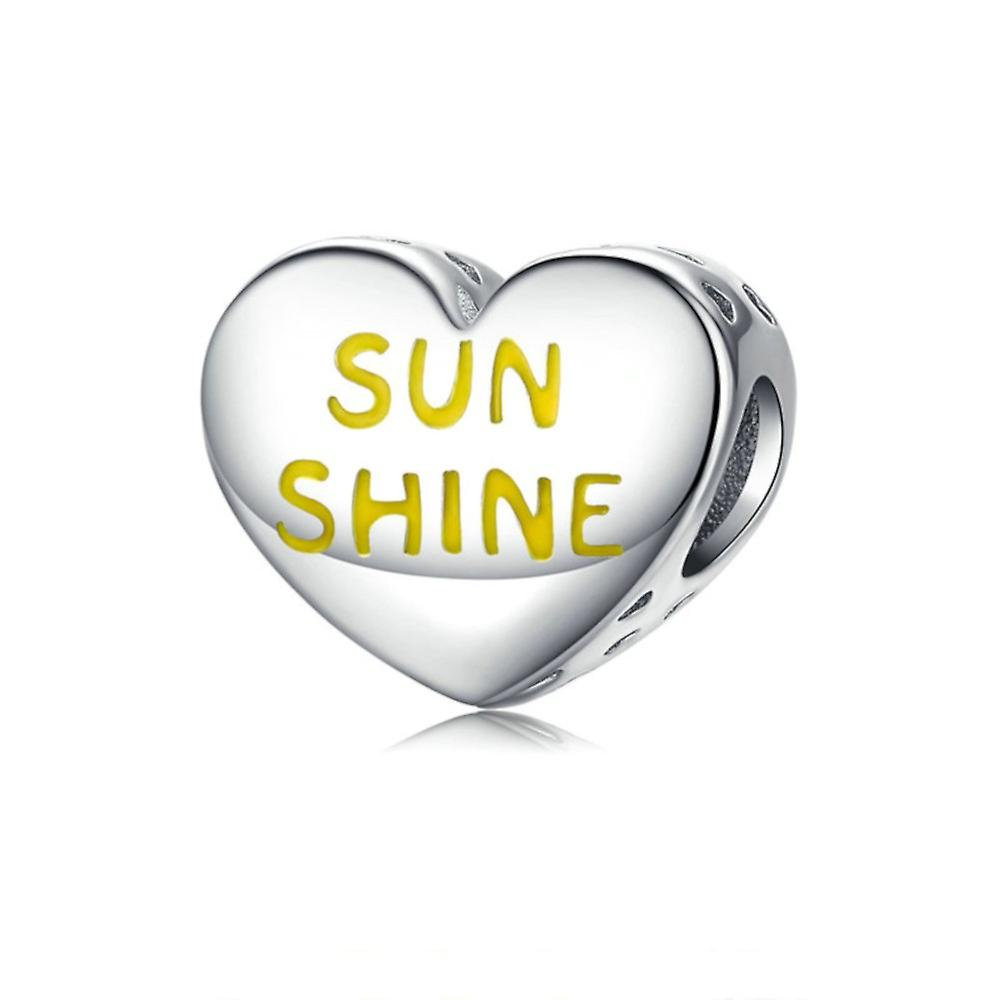 Sterling silver charm You are my sunshine