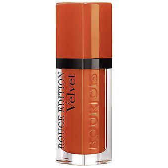 3 x Bourjois Paris Rouge Edition Velvet Lipstick 7.7ml - 30 Oranginal