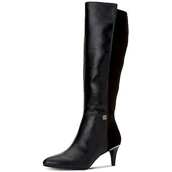 Alfani Womens HAKUU Cuir Pointed Toe Knee High Fashion Boots
