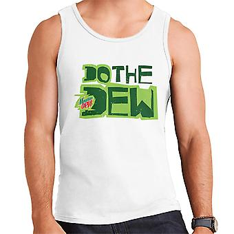 Mountain Dew Do The Dew Printed Style Men's Vest