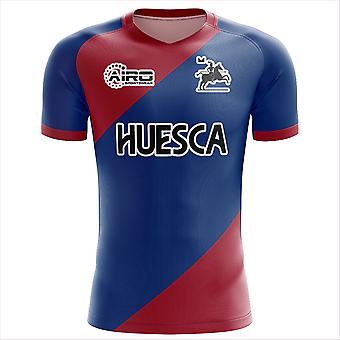 2019-2020 SD Huesca Home Concept Football Shirt
