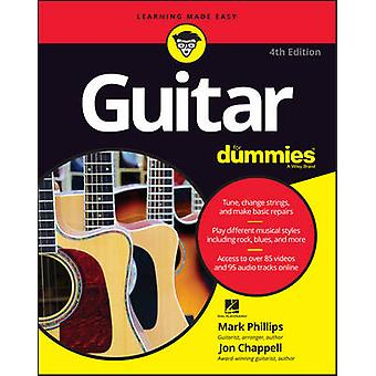 Guitar For Dummies by Phillips & MarkChappell & JonHal Leonard Corporation