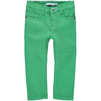 Name It Boys Green Jeans Hose Theo Twidam