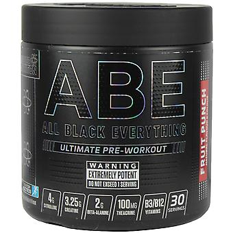 Applied Nutrition All Black Everything Pre-Workout Fruit Punch 315g