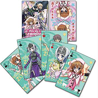 Playing Card - Is This a Zombie? Poker Games Toys Anime ge51539