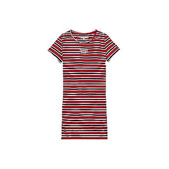 Tommy Hilfiger Mädchen Streifen T-Shirt Kleid