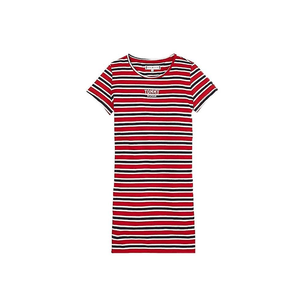Tommy Hilfiger Mädchen Streifen T Shirt Kleid   Fruugo LU