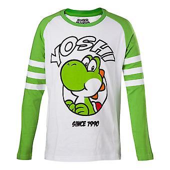 Super Mario Yoshi Longsleeve Green-White Size 146/152 (LSY01129NTN-146/152)