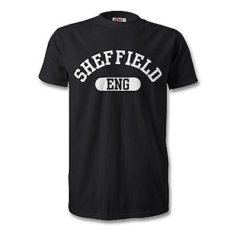 Шефилд Англии города футболку