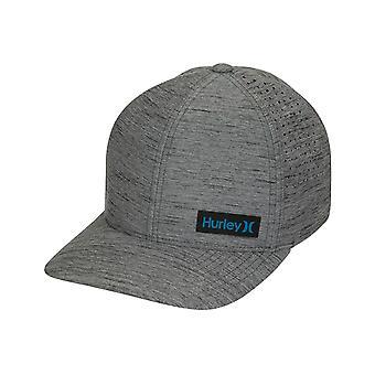 Hurley Dri-Fit Marwick Elite Cap in Dk Smoke Grey