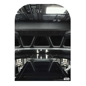 Star Wars Star Destroyer Bridge virallinen pahvi cutout / standee tausta (lapsen koko)
