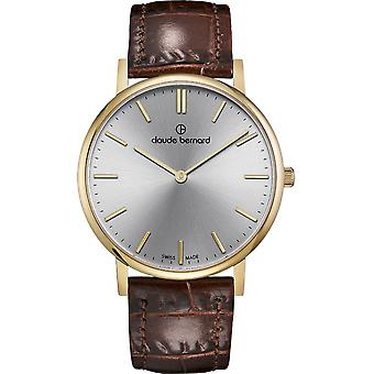 Claude Bernard - Wristwatch - Unisex - Slim Line 41 MM - 20219 37J AID