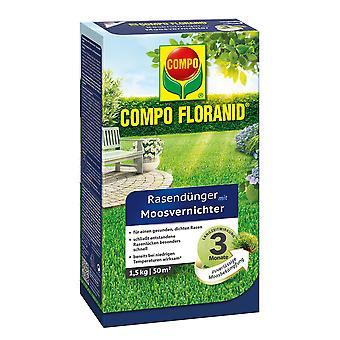 COMPO Floranid® fertilizzante da prato con distruttore di muschio, 1,5 kg