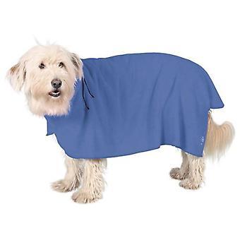 Trixie Honden badjas, microfiber, blauw
