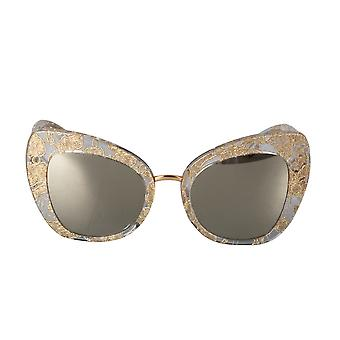 Dolce and Gabbana DG4319F 3153/5A Butterfly Sunglasses