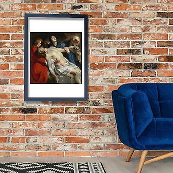 Rubens - o sepultamento Poster impressão giclée