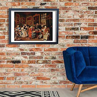 William Hogarth - Dealer Poster Print Giclee