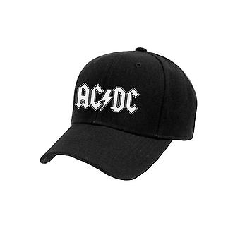 AC/DC unissex adultos logotipo boné de beisebol