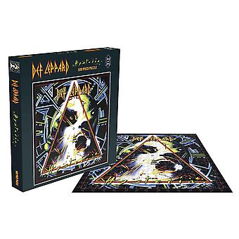 Def Leppard Jigsaw Puzzle Hysteria Album Cover new Official 500 Piece