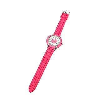 Paris Hilton Pink Strap Ladies Fashion Watch and Heart Handbag Holder HWX007B