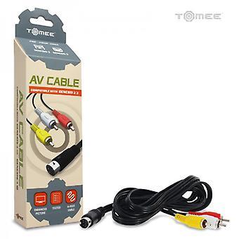 AV Cable for Sega Genesis 3/ Genesis 2 - Tomee