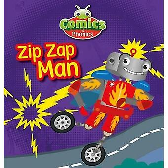 Sett 12 Gul Zip Zap Mann (BUG CLUB)