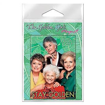 Golden Girls bleiben Golden Carded Magnet