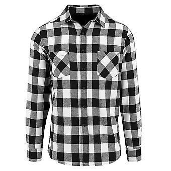 לבנות המותג שלך תחתוני גברים בדק חולצת פלנל