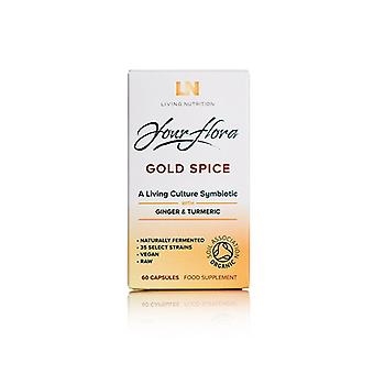 Living Nutrition Gold Spice Caps 60 (LN1009)